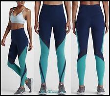 Nike NikeLab Essentials Dri-FIT Tights Women's Training Tights S Blue Yoga New
