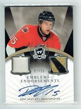 07-08 UD The Cup Emblems of Endorsements  Dany Heatley  /15  Auto  Patches