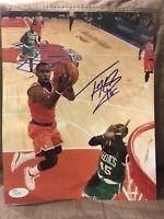 Tim Hardaway Jr Autograph 8x10 Signed Photo JSA COA Mavericks Knicks Michigan