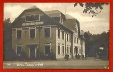 TORINO ESPOSIZIONE 1911, ALBERGO DEL TOURING, ANNULLO A BANDIERA EXPO, 1911    m