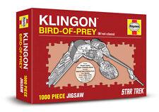 KLINGON BIRD-OF-PREY STAR TREK - HAYNES 1000 PIECE JIGSAW (New & sealed)