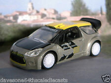 "CITROEN DS3 Racing 1:60/3"" (Grey/Yellow) Norev MIP Diecast Passenger Car Sealed"
