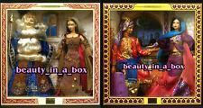 MERLIN & MORGAN LE FAY Tales of the Arabian Nights Barbie Ken Doll Giftset NRFB