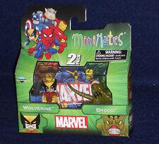 Marvel MiniMates 47 WOLVERINE & BROOD Action Figure 2 PK X-Men