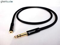 D09 (1m 3ft) --- 6.35mm HIFI Jack(male) to 3.5mm 1/8' Jack(female) Stereo Cable