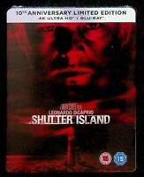 Shutter Island 4K ULTRA HD + BLU-RAY STEELBOOK LIMITED EDITION UK D205006
