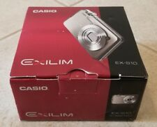 Casio EXILIM EX-S10 Digital Camera 10.1 MP Blue