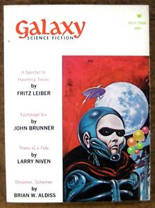 """Galaxy"" Science Fiction (July 1968) ~ Magazine ~ Leiber - Brunner - Niven"