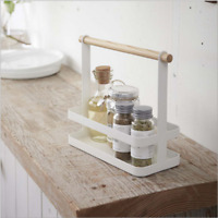 Glass Spice Herb Jar Jars Stand Rack Holder Stainless Steel Standing Durable