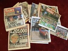 Royal family newspapers/magazines few other bits. Mainly Diana's parting