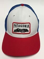 """Patagonia """"Climb a Mountain"""" Trucker Hat Mesh Snapback Embroidered Patch Hiking"""
