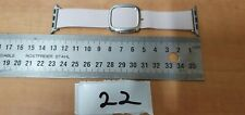 Original OEM Apple Watch Band Modern Buckle leather Strap 38mm PINK S