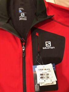 SALOMON Jacket Equipe Softshell Matador-X AdvanceSkin Shield Red/BLK Men's Small