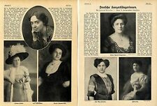 Deutsche concerto cantanti () con 11 fotografie storico di 1912