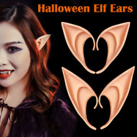 2pcs Latex Elf Ears Cosplay Party Props Gift for Party Halloween Costume Supply