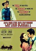 CAPTAIN SCARLETT (1953) - DVD - Region Free - Sealed