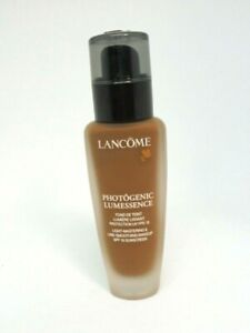 Lancome Photogenic Lumessence Spf 15 Line Smoothing Makeup ~ Suede 4 ~ 1 oz
