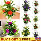 Fake Plant Wedding Garden Outdoor Floral Decor Artificial Flowers In Pot