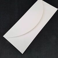 10 X Bianco Buste Per Saluti Carte Craft Lettera 203 x 84mm (20.3cmx8.9cm)
