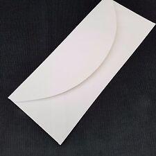 50 x Enveloppes Blanches Pour cartes de voeux loisirs créatifs Lettre 203 84mm (