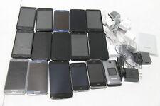 Lot of 16 Defective Smartphones Includes Samsung, Motorola, Apple, Zte + More