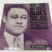 Mr Sykes Blues : 1929 - 1932
