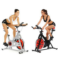 Relife Spin Exercise Bike Fitness Cardio Workout Machine Home Body Training Gym
