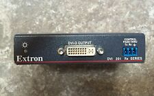 EXTRON DVI 201 Rx HDMI DVI Twisted Pair Extender Long Distance Signal Carrier
