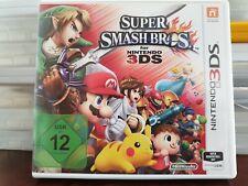 Super Smash Bros 3DS, Nintendo DS Spiel, guter Zustand, Dsi, Dsxl, 3Ds, 3Dsxl