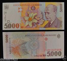 Romania Paper Money 5000 Lei 1998 UNC
