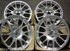 "18"" SLV CH ALLOY WHEELS FITS BMW 1 3 SERIES E36 E46 E90 E91 E92 Z3 Z4 M12"