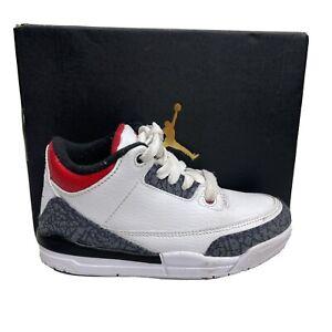 Nike Air Jordan 3 Retro Denim SE PS Sneakers Boys 12 C Toddler Denim DB0443 100