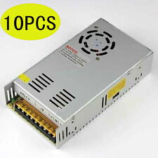 10pcs Regulated Switching Power Supply DC 12V 30A For 5050 3528 LED Strip Light