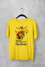 THE BIRDS MOVIE T SHIRT XS-5XL 100% COTTON HORROR ALFRED HITCHCOCK HALLOWEEN