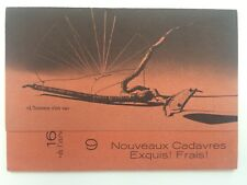 Meret Oppenheim Roberto Lupo Anna Boetti Cadavres Exquis carton invitation 1974