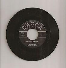 Vintage Georgie Cook The Real McCoy Polka b/w Ketchikan 45 Record Decca 9-30796