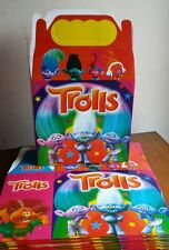 Trolls Party Favors Treat Boxes *10Ct* Loot Goody Candy Bags Party Supplies
