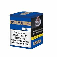 6 x Pall Mall Authentic Blue ohne Aroma XL à 75 Gramm Zigarettentabak / Tabak