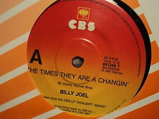 """Billy Joel """"The Times They Are A Changin'"""" BOB DYLAN Oz 7"""""""