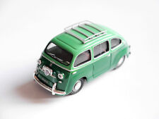 FIAT 600 multipla in Verde Verde Vert Green, fatto a mano handmade Giocher in 1:43!