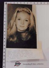 CAROLINE CELLIER portrait 1970/actrice TV théâtre cinéma/originale/argentique