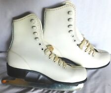 Vintage Pair Imperial Ice Skates Size 8 Youth