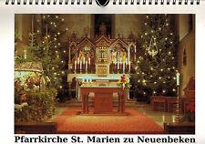 Luthériennes St. - Marie neuenbeken ville feoll, incessant de Peinture. CALENDRIER