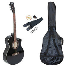"Johnny Brook 40"" ""Cutaway"" Acoustic Guitar Kit (Colour Black)"