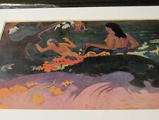Fatata te Miti 1892 Paul Gaugin print By the Sea