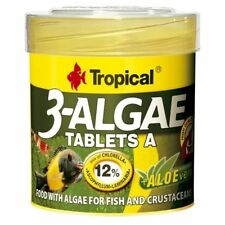 36g/50ml Tub Tropical 3-ALGAE TABLETS A food algae for freshwater & marine fish