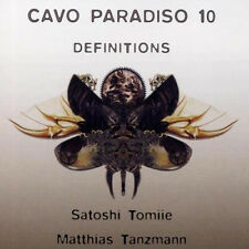 Cavo Paradiso 10 = Tomiie/Danza Uomo/Buttrich/KADEN/Meyer... = 2cd = groovesdeluxe!