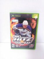 NHL Hitz 2003 (Xbox, 2002) Game, Case & Manual - Tested - Fast Shipping!