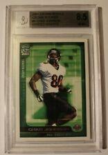 Chad Johnson 2001 Crown Royale Draft 2001 #4 Card Beckett BGS 8.5 NM-MT Rookie