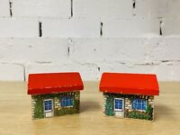 Scenery Scenic Red Roof House Houses - Thomas Wooden Railway Trains Rare